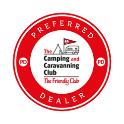 Camping and Caravanning Club preferred dealership